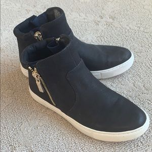 Kenneth Cole high top leather shoes